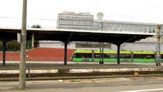 preview picture of video 'Tram investments in Poznan / Fast tram part 2'