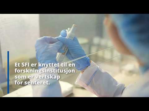 - Det fine med SFI-ene er at det samler hele næringskjeden med utdanning, grunnforskning, teknologiutvikling, innovasjon og kommersialisering, sier Borg og Bech Gjørv.