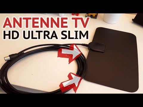 TEST D'UNE ANTENNE TV TNT HD ULTRA SLIM | EST-CE QUE CA MARCHE VRAIMENT ? 📺