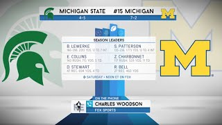 """Michigan Alum Charles Woodson on Michigan State: """"Send Them Home Limping"""" 