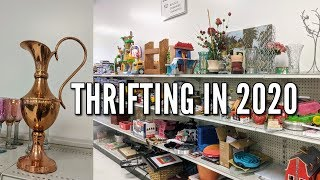 Thrifting With Me At Goodwill+First Vintage Home Decor Thrift Haul Of 2020