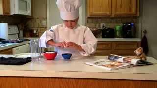 The Kidey Kitchen ~ Baked Eggs & Ham Episode 2