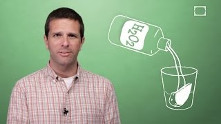 Why Does Hydrogen Peroxide Foam When Put On A Cut?