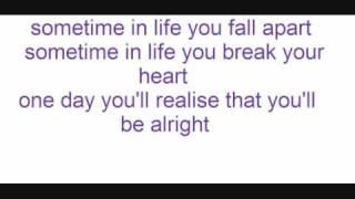 chipmunk sometimes lyrics!