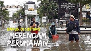 Banjir di Cibitung Pagi Ini, Merendam Perumahan Trias Estate
