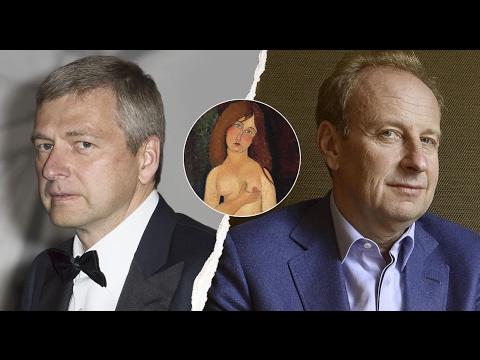 Milliardaire russe Vs marchand d'art : l'arnaque à 1 Milliard € видео
