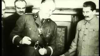 Сталин Молотов подписание договора с ?