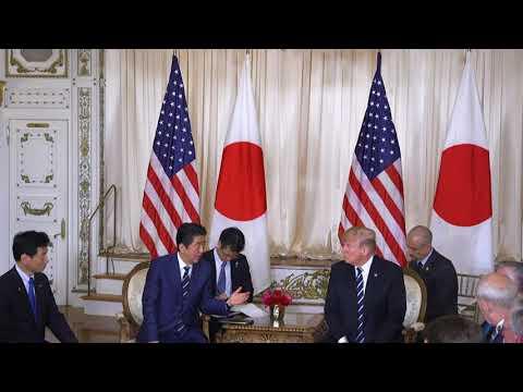 President Donald J. Trump Meets with Japanese Prime Minister Shinzō Abe