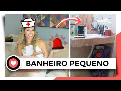 COMO ORGANIZAR UM BANHEIRO PEQUENO - S.O.S RAFA ORGANIZA