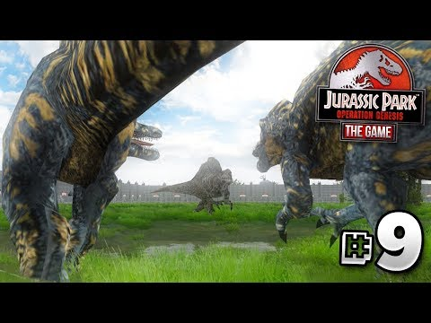 GIANT DINOSAURS DO BATTLE! - Jurassic Park Operation Genesis | Ep9