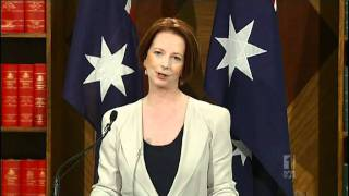 Julia Gillard Accuses Kevin Rudd Of Treating Campaign Like Big Brother