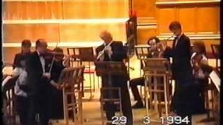 Олег Сергеев (флейта) - Бранденбургский концерт № 4