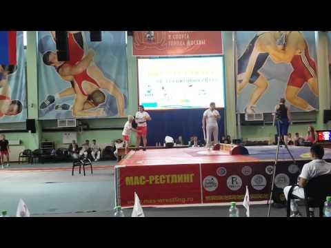 Кристина Кочесокова полуфинал Чемпионата России по мас-рестлингу 2015 г.