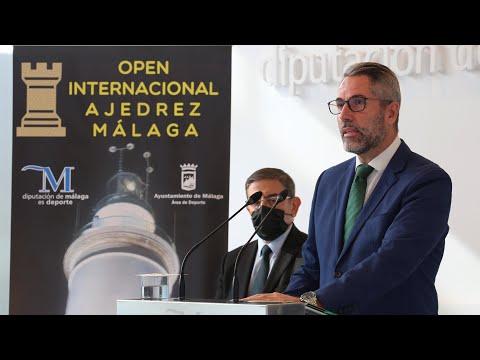 Presentación del XV Open Internacional de Ajedrez Málaga 2021