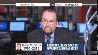James Lipton - Remembering Robin Williams - MSNBC