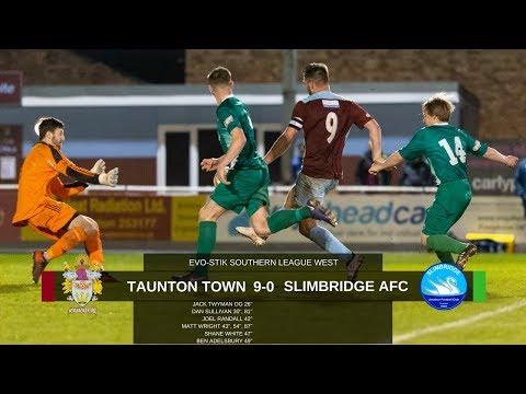 Extended Highlights: Taunton Town 9-0 Slimbridge AFC