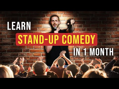 Learn Stand Up Comedy in 1 Month || Max's Monthly Challenge ...