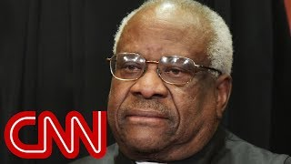 Racial bias case prompts rare Clarence Thomas question