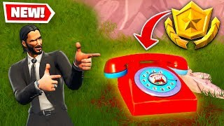 Visit an oversized Phone, a big Piano, and a giant Dancing Fish trophy! All Fortnite Locations!