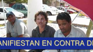 preview picture of video 'Protesta de Trabajadores de ISSSTE Guaymas'