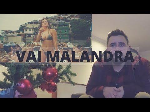 PORTUGUÊS REAGINDO A VAI MALANDRA- ANITTA • DESBLOGADA