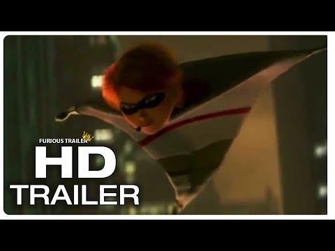 INCREDIBLES 2 Jack Jack vs Raccoon Fight Scene Trailer (NEW 2018) Superhero Movie HD