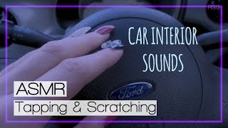 ASMR (Relaxation Sounds) Car Interior ~ Tapping & Scratching | No Talking | RSG