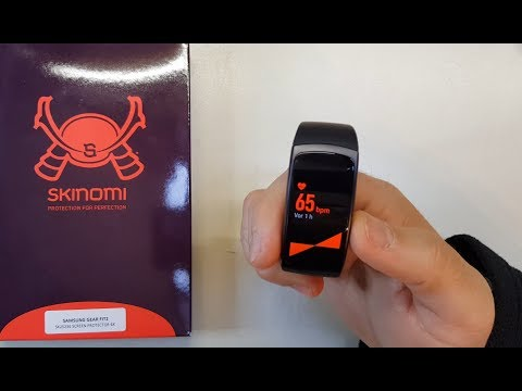 Skinomi TechSkin - Schutzfolie für Samsung Gear Fit2 (Deutsch)