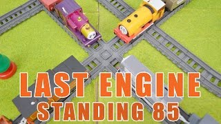 LAST ENGINE STANDING 85: Thomas And Friends Toy Trains Video For Children