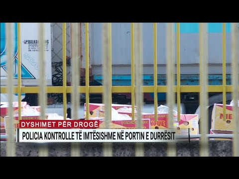 Dyshime për kokainë nga Amerika e Jugut, kontrollohen arkat me banane në Portin e Durrësit