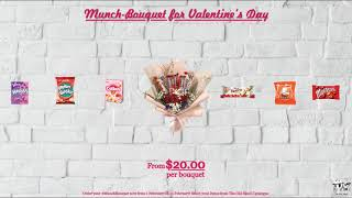 #MunchBouquet for your Valentine?