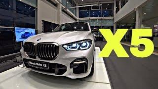 ТЕСТ-ДРАЙВ BMW X5 G05!!! ПОДНИМЕТСЯ ЛИ ОН В СНЕЖНУЮ ГОРКУ?! СПОР!!