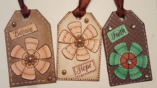 Cereal Box Gift Tags - Paper Crafts