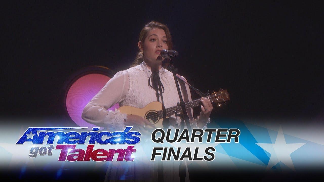 "Mandy Harvey: Deaf Singer Performs Original, ""Mara's Song"" - America's Got Talent 2017 thumbnail"