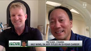 Tennis Channel Live: Michael Chang Recalls His Surprise 1989 Roland Garros Title Run