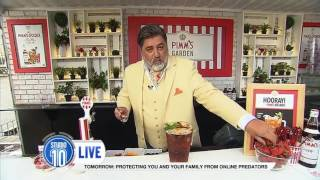 Matt Preston At Pimm's Garden Bar