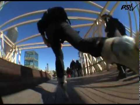 Powerslide Vi Fothon Skates in Barcelona