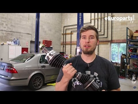 Saab 9-5 C/V Axle Replacement DIY