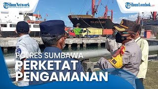 Pelabuhan Poto Tano-Kayangan Ditutup, Pelabuhan Badas Sumbawa Rawan Disusupi Penumpang Gelap