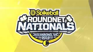 2019 Spikeball Roundnet Nationals - Pro Finals - Cisek/Showalter vs Boysterous
