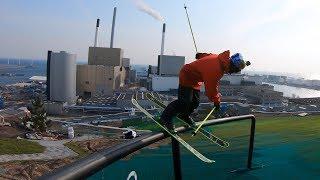 GoPro: Jesper Tjäder - CopenHill | Skiing On Top a Building