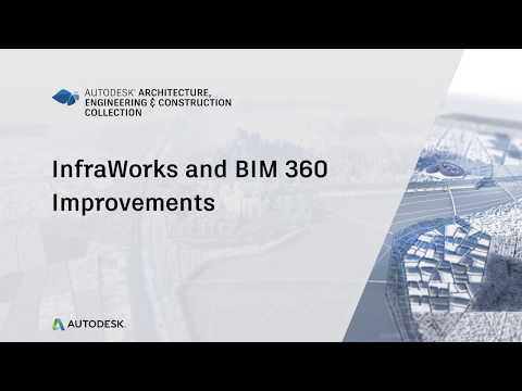 InfraWorks and BIM 360 Data Sources