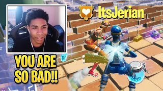 Unknown VS ItsJerian Finally Happens For the First Time in Fortnite History!
