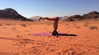 Desert Yoga Demo