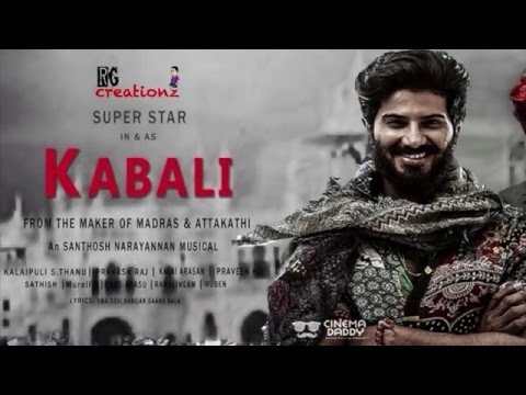 Kabali trailer Dulquer Version