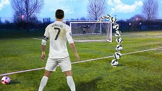 this RONALDO Football Challenge is IMPOSSIBLE!! - CAN YOU DO IT?😱