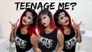 GRWM: RECREATING MY TEENAGE LOOK!