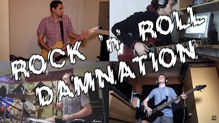 AC/DC fans.net House Band: Rock 'n' Roll Damnation Collaboration HD