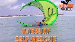 #1 Kiteboarding Beginner – Self rescue