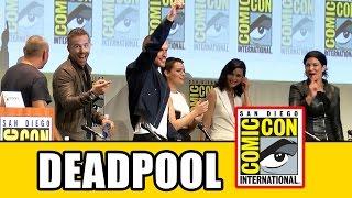 Райан Рейнольдс, Deadpool Comic Con Panel - Ryan Reynolds, Morena Baccarin, Gina Carano, T.J. Miller, Ed Skrein